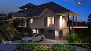 Commercial 3D exterior Rendering