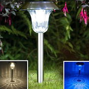 stainless steel outdoor solar lights for walkway-Sogrand
